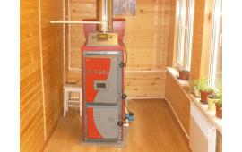 Пеллетный котел FACI 15 для системы отопления дома 120м.