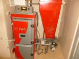 Пеллетный котел FACI 26 для отопления и ГВС