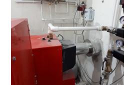 Подключение котла Radijator EcoComfort 45 к дымоходу